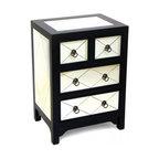 wayborn tanner mirror 4 drawer chest in black asian style furniture korean antique style 49