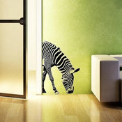 Zebra Vinyl Wall Decals by Twice as Nice Lettering
