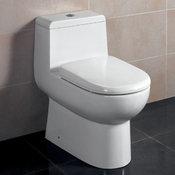 Antila 1-piece Dual Flush Toilet with Soft Close Seat
