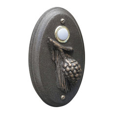 Doorbell Arts And Crafts Pine Cone Craftsman Oil Rubbed