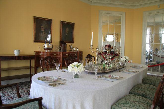 Dining room at Hamilton Grange