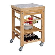 Kitchen Double Small And Large Waste Basket In Cabinet Assembly