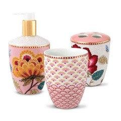 D coration salle de bain - Accessoires salle de bain rose ...