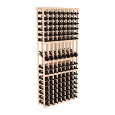 Wine Racks America - 8 Column Display Row Wine Cellar Kit in Pine ...