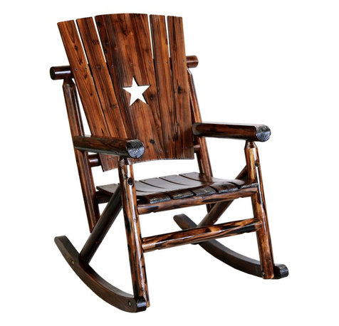 Wooden Outdoor Rocking Chairs Houzz