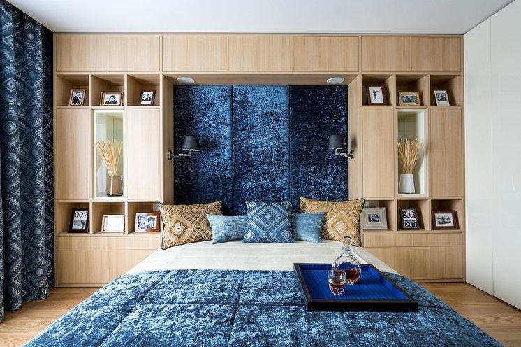 Современный Спальня by Однушечка   Odnushechka