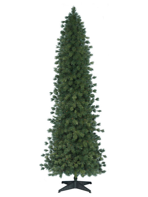 Slim And Pencil Shape Artificial Christmas Trees