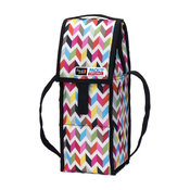 PackIt Freezable Wine Bag, Zigzag