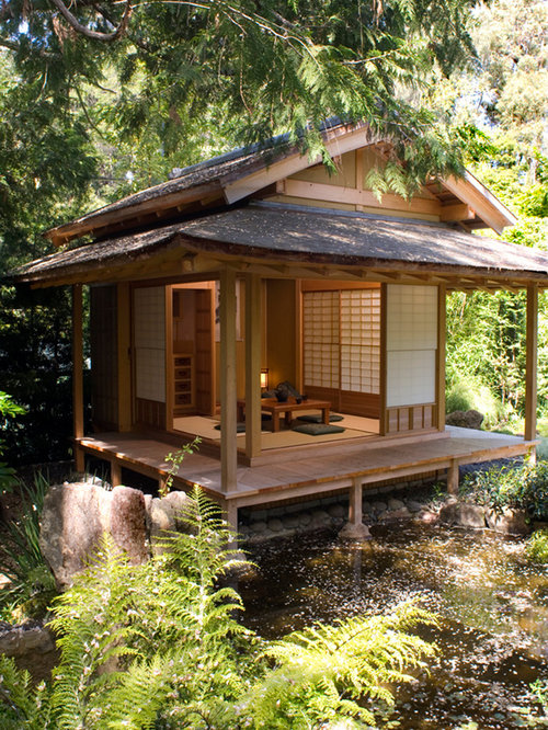 Japanese tea house home design ideas pictures remodel for Japanese tea house garden design