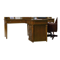 Shop Antique English Partners Desk Products on Houzz