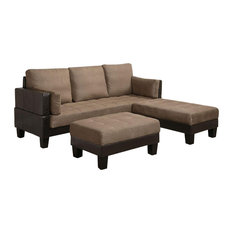 ... sectional sofa with oversized ottoman large oversized ottoman sectional sofas houzz ...  sc 1 st  Mytravelsite.info : sectional sofa with oversized ottoman - Sectionals, Sofas & Couches