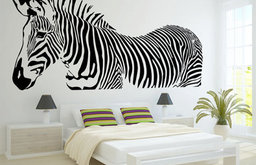 Zebra Wall Decal by Chamber Decals