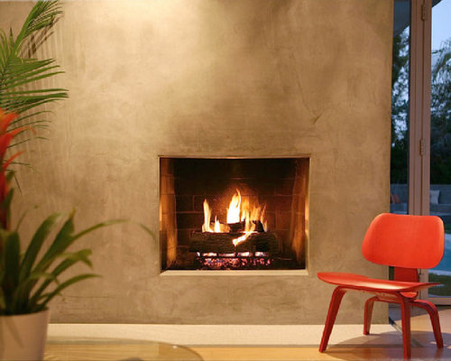 Venetian Plaster Fireplace Home Design Ideas Pictures Remodel And Decor