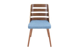 lumisource Trevi Dining Chair, Blue