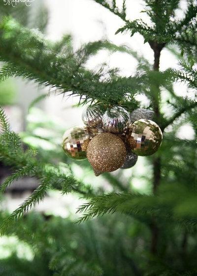 Украшения на елку своими руками простые