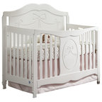 Camelot Convertible Crib Traditional Cribs Other