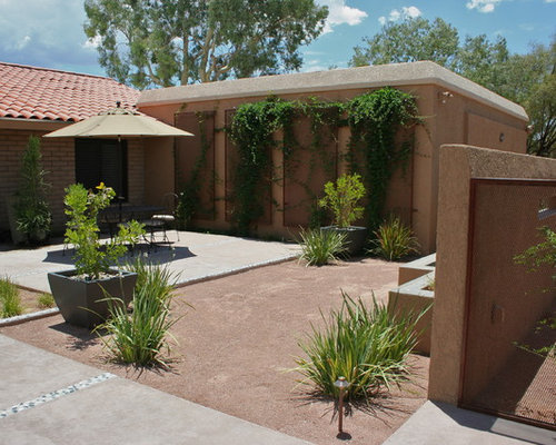 Modern southwest courtyard home design ideas pictures for Courtyard home designs adelaide