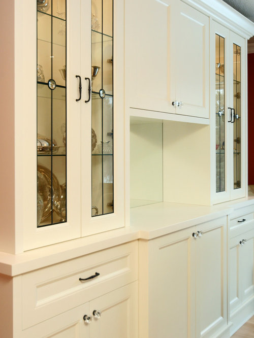 Cabinet Door Glass Insert Home Design Ideas, Pictures, Remodel and ...