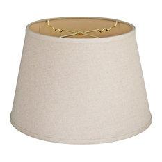 linen drum lamp shades lamp shades houzz. Black Bedroom Furniture Sets. Home Design Ideas