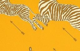 Zebras Wallpaper, Zanzibar Gold
