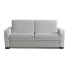 inside 75 rapido sofia 120 cm cuir vachette blanc lattes lampolet matelas bultex garantie. Black Bedroom Furniture Sets. Home Design Ideas