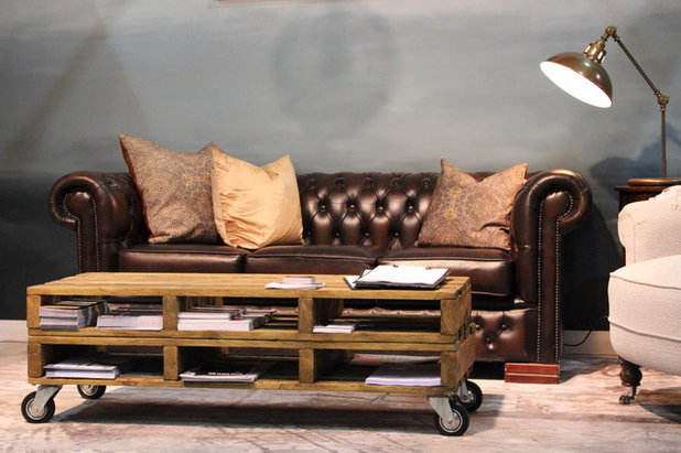 Zoom mobilier : Le canapé Chesterfield forever !