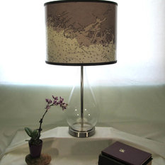 beach style lamp shades houzz. Black Bedroom Furniture Sets. Home Design Ideas