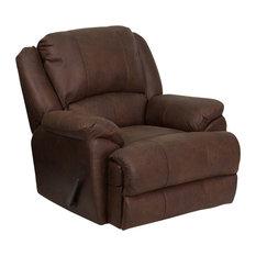 Shop overstuffed chairs on houzz for Overstuffed armchair
