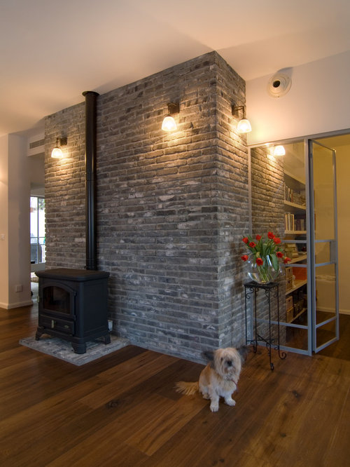 Grey Brick Home Design Ideas Pictures Remodel And Decor
