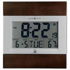 howard miller techtime iii accuwave ds wall clock brick desk wall clock