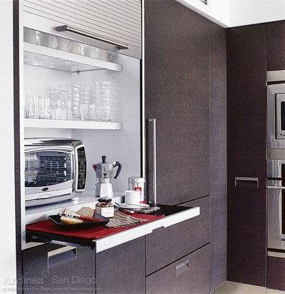 Contemporary Kitchen by Lisa Wilson-Wirth, CKD