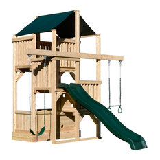 Traditional Kids Playsets And Swing Sets Houzz