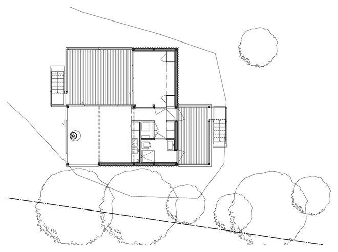 Contemporary Planlösning by Arkitekt Mats Fahlander