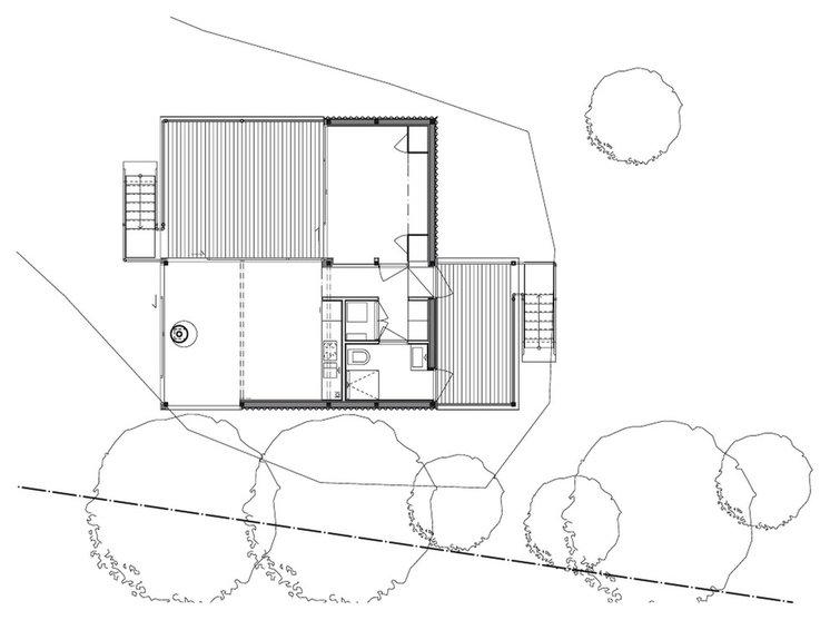 Современный План этажа by Arkitekt Mats Fahlander