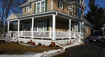 Nichols ia deck patio professionals for Design homes in eldridge iowa