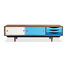 Midcentury Media Storage | Houzz