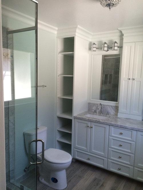 Orange County Bathroom Design Ideas Renovations Photos With Painted Wood Floors