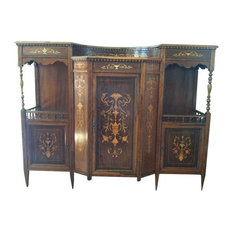 Inlaid Victorian Sideboard Display - Purchased in England in the early ...