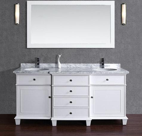 Shop Scandinavian Brushed Nickel Bathroom Storage & Vanities on Houzz