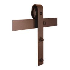 """Door) - Real Sliding Hardware's """"Classic"""" style barn door hardware ..."""