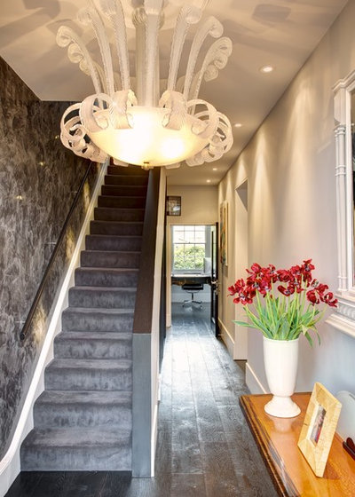 Traditional Staircase by Landmark Lofts