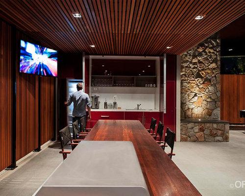 contemporary melbourne basement design ideas pictures remodel