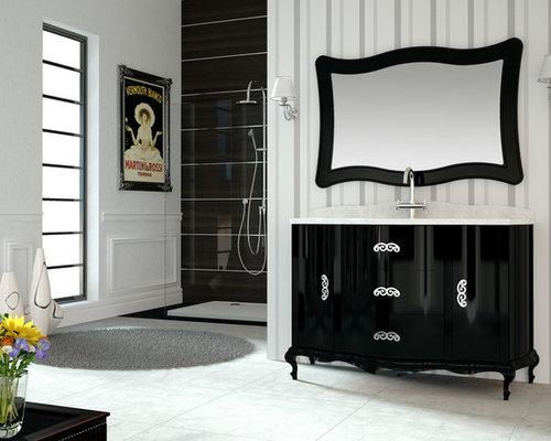 Muebles de baño estilo neoclásico