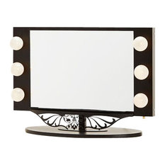 Versa Products Inc Starlet Lighted Vanity Mirror Black