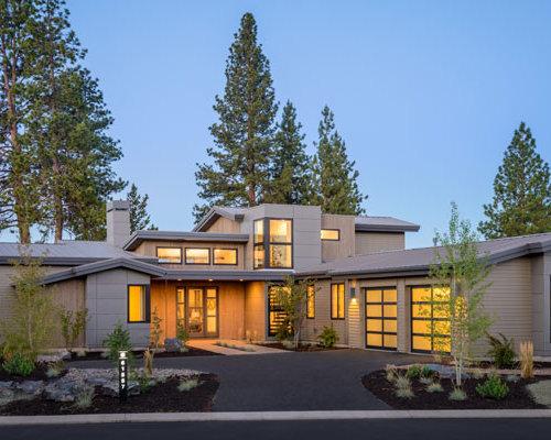 Contemporary Energy Efficient House Plan 9044