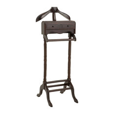 Eichholtz Oroa - Classic Valet Stand - Mahogany wood