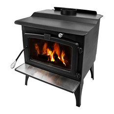 how to keep a wood stove burning all night