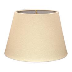drum hardback lampshade linen eggshell 12x16x11 lamp shades. Black Bedroom Furniture Sets. Home Design Ideas