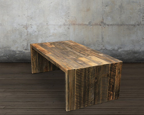 Reclaimed Wood Coffee Table All Wood