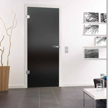 Lava Grey Glass Doors Designs for Modern Homes
